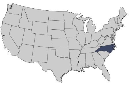 Program Evaluation Division Reports By Date - North carolina on the us map